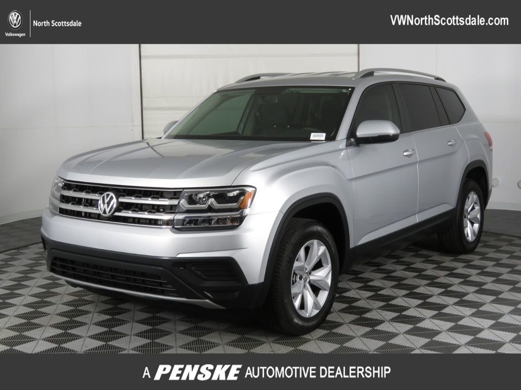 Certified Pre-Owned 2018 Volkswagen Atlas 3.6L V6 S FWD