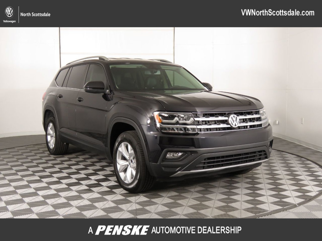 New 2019 Volkswagen Atlas 3.6L V6 SE 4MOTION