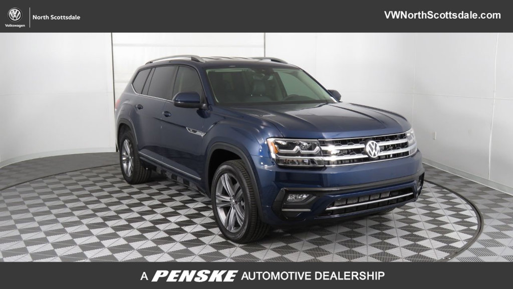 New 2019 Volkswagen Atlas 3.6L V6 SE w/Technology R-Line 4MOTION