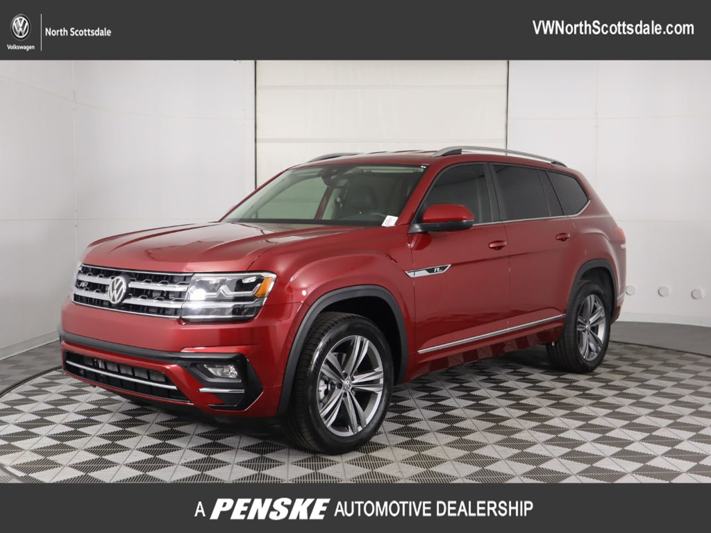 New 2019 Volkswagen Atlas 3.6L V6 SE w/Technology R-Line FWD