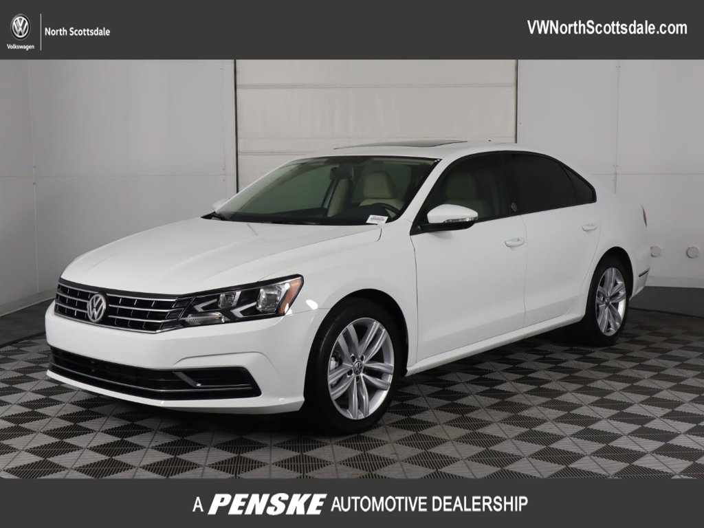 Certified Pre-Owned 2019 Volkswagen Passat 2.0T Wolfsburg Edition Automatic