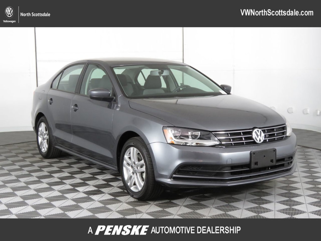 Certified Pre-Owned 2018 Volkswagen Jetta 1.4T S Automatic