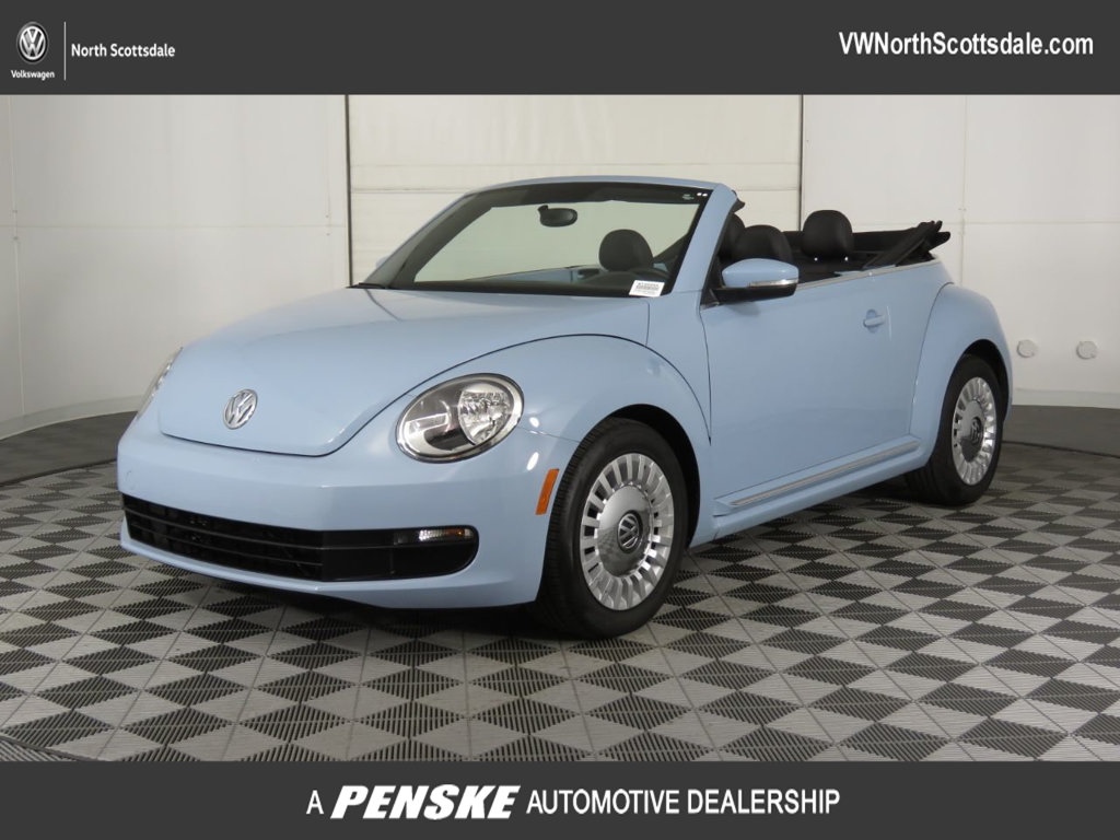 Pre-Owned 2013 Volkswagen Beetle Convertible 2dr Automatic 2.5L w/Tech