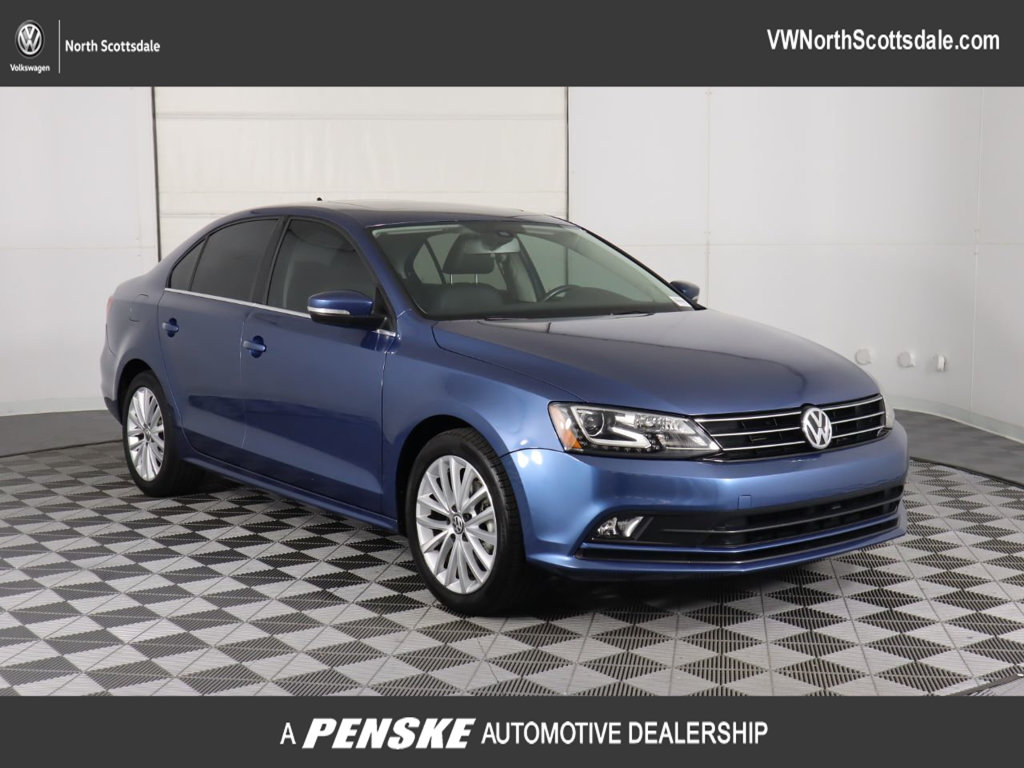 Certified Pre-Owned 2016 Volkswagen Jetta Sedan 1.8T SEL PZEV 4dr Automatic
