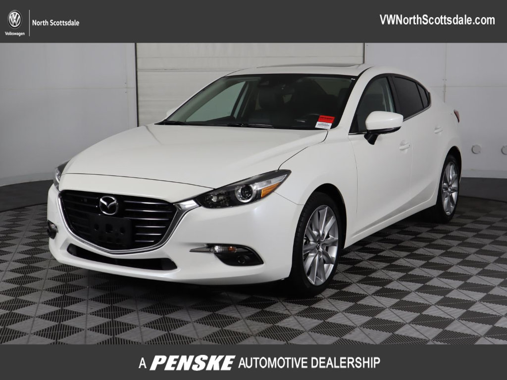 Pre-Owned 2017 Mazda3 4-Door Grand Touring Automatic