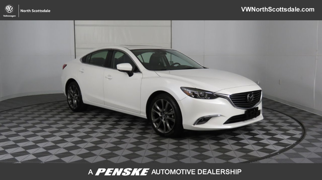 Pre-Owned 2017 Mazda6 2017.5 Grand Touring Automatic