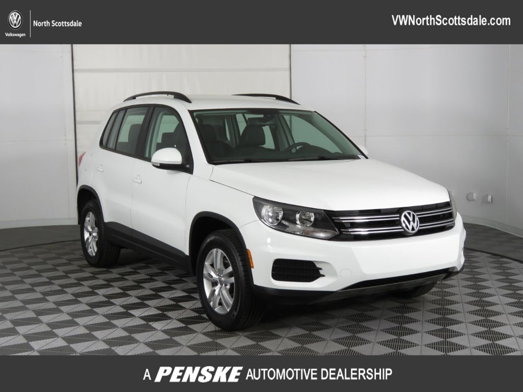 Certified Pre-Owned 2016 Volkswagen Tiguan 2.0T S w/ 4Motion 4dr Automatic