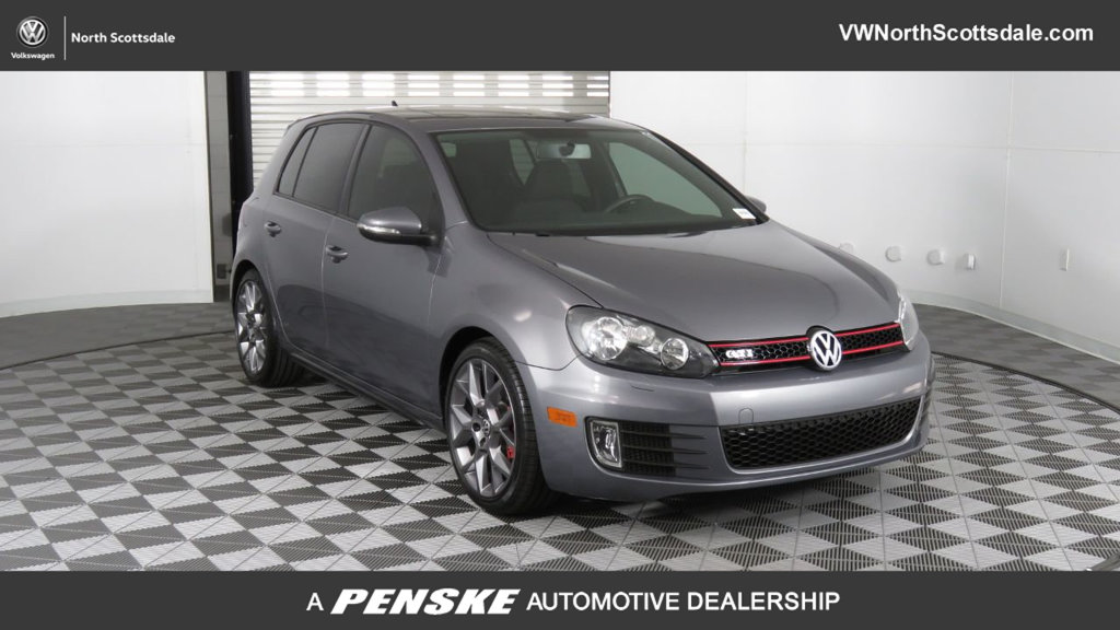 Certified Pre-Owned 2013 Volkswagen Golf GTI 4dr Hatchback DSG w/Conv & Sunroof PZEV *Ltd Avail*