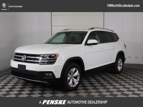 Certified Pre-Owned 2018 Volkswagen Atlas 3.6L V6 SE FWD