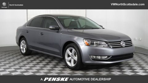 Certified Pre-Owned 2015 Volkswagen Passat 4dr Sedan 1.8T Automatic Limited Edition PZEV