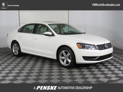 Certified Pre-Owned 2012 Volkswagen Passat 4dr Sedan 2.0L DSG TDI SE w/Sunroof