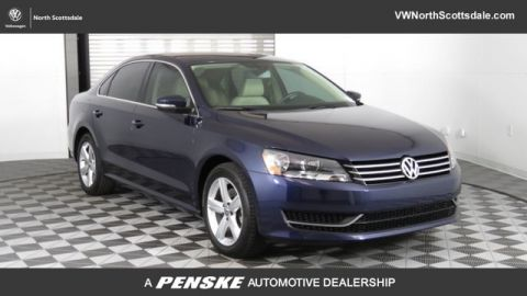 Certified Pre-Owned 2015 Volkswagen Passat 4dr Sedan 1.8T Automatic SE PZEV