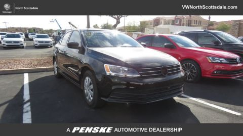 Certified Pre-Owned 2016 Volkswagen Jetta Sedan 1.4T S 4dr Automatic