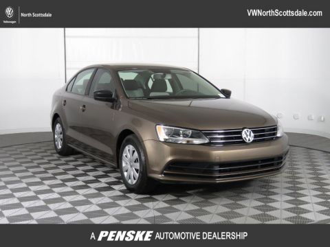 Certified Pre-Owned 2015 Volkswagen Jetta Sedan 4dr Automatic 2.0L S