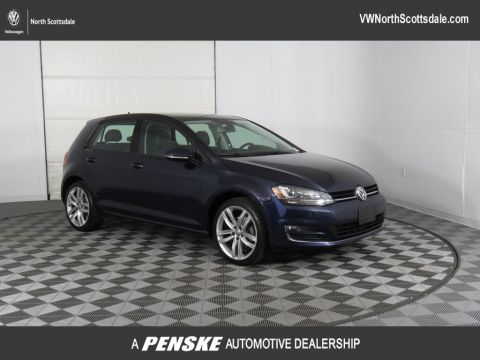Certified Pre-Owned 2015 Volkswagen Golf 4dr Hatchback Manual TDI SEL