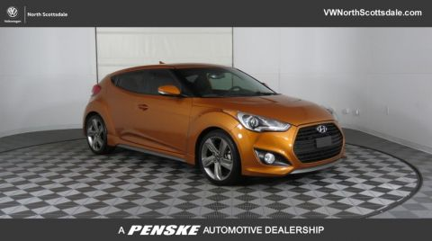 Pre-Owned 2013 Hyundai Veloster 3dr Coupe Automatic Turbo w/Black Int