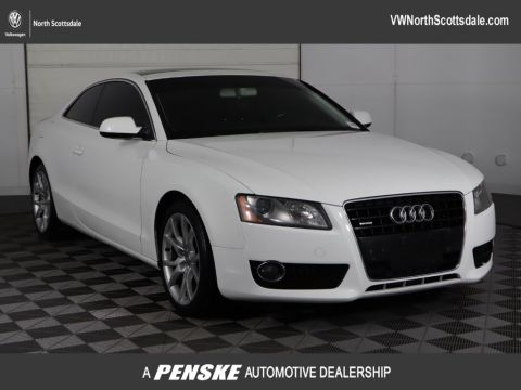 Pre-Owned 2012 Audi A5 2dr Coupe Manual quattro 2.0T Premium