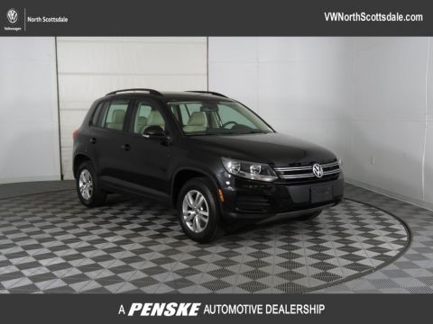 Certified Pre-Owned 2016 Volkswagen Tiguan 2.0T S 4dr Automatic