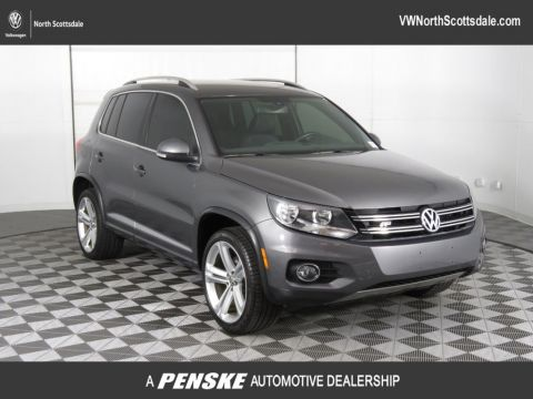 Certified Pre-Owned 2016 Volkswagen Tiguan 2.0T R-Line 4dr Automatic