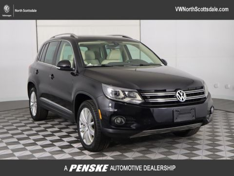 Certified Pre-Owned 2016 Volkswagen Tiguan 2.0T SE w/ 4Motion 4dr Automatic