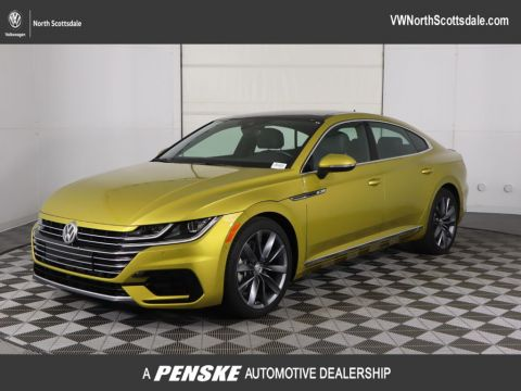 "Certified Pre-Owned 2019 Volkswagen Arteon SEL Premium R-Line 4MOTION w/20"" Wheels"